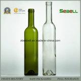 La vendita calda 750ml della Cina rimuove la bottiglia di vino di vetro con con tappo a vite (NA-055)