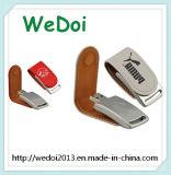 Bastone di cuoio del USB dell'azionamento dell'istantaneo del USB con una garanzia da 1 anno (WY-L18)