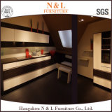N et L qualité classique de cuisine en bois solide de meubles de cuisine conçoivent en fonction du client