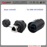Plastic RJ45 Cat5 Wateproof Connector voor LED Display