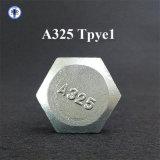 A325 Tpye1 hochfeste Schrauben-Blut-Weißes verzinktes