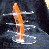 Soporte de visualización de los vidrios del sostenedor del estante de las gafas de sol del orgullo del mundo (anaranjado)