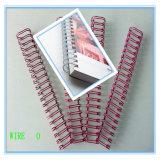 Coating en nylon Double Loop Binding Wire pour Spiral Notebook
