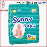Produto descartável do bebê do tecido do melhor preço 2016 novo quente