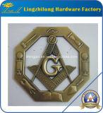 Emblema antico di Masoniccar di rifinitura dell'oro
