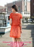 Lace novo Fabric para Lady Polyester Garments