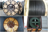 12/20 Kv силового кабеля Cu/XLPE/Cws/PVC (VDE 0276-620) N2xsey DIN