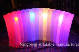 Pared inflable de la iluminación de la pared inflable LED de la exposición para la decoración del partido