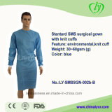 Standard-SMS Surgical Gown mit Knit Cuff