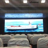Pantalla de visualización de interior de LED de SMD P4 para la etapa
