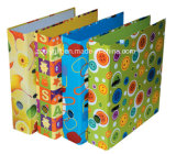 A4 / FC carpeta de archivos de papel aglomerado Carpeta de anillas duradero