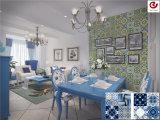 30X30 Modern Design Printing Decor Flower Ceramic Tile