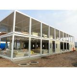 Leichtes haltbares Stahlkonstruktion Prefabtricated Haus-Behälter-Haus