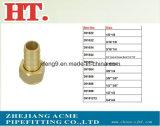 Ajustage de précision hydraulique de connecteur d'embout de durites d'adaptateur en laiton de picot (identification x O.D)