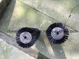 Cepillos del rodillo del agujero del hexágono con la cubierta para la limpieza (YY-604)