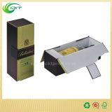 Custom Made Clear Single / 2 Bottles / 3 Bottles6 Garrafa / 12 garrafas de vidro de vinho caixa de papelão de embalagem (CKT-PB-007)