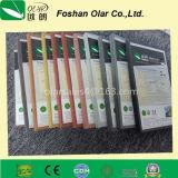 Tarjeta externa impermeable e incombustible del revestimiento de la fachada del cemento de la fibra