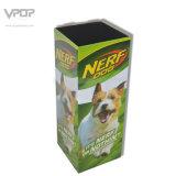 Compartimiento del cuadrado de la cartulina del perro de Nerf con el soporte de la cartulina