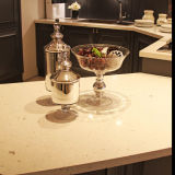 SuperWhite Artificial Quartz Stone für Countertop oder Tabletop