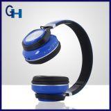 極度の低音の音質の青い歯のヘッドホーンは使用できるロゴを提供した