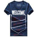 Custom Sports Running Sublimation Print T Shirt