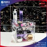 De goedkoopste Organisator van de Make-up van de Prijs van de Fabriek Directe Transparante Acryl