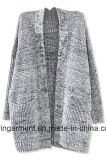 Wolljacke-Strickjacke der Soem Dame-Fashion Hot Sales Long (W17-739)
