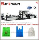 Machine non tissée conçue neuve Zxl-B700 de sac plat de tissu