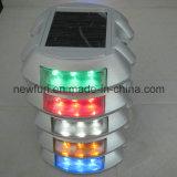 Venta caliente de aluminio IP68 LED azul solar Camino Stud