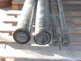 Tubo flessibile di gomma flessibile di ceramica dell'alta allumina resistente all'uso