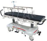 Lujoso Levantar-y-Cae la cama de hospital del carro del ensanchador