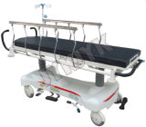 Luxuoso Levantar-e-Cai a cama de hospital do carro do esticador