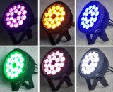 洗浄のための屋外18X18W Rgbwauv大きい力LEDの同価ライト