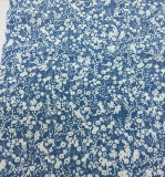 衣服の織物のための55%Linen 45%の綿の花の印刷されたファブリック