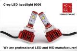 車およびオートバイ3000k 5500k 6500kの高い発電LEDのための最も新しいF6 9005 LEDのヘッドライトキット