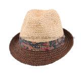 カスタマイズされた方法人麦わら帽子、夏は野球帽を遊ばす
