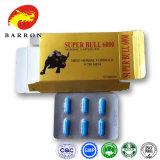Píldoras herbarias del sexo de Bull 6000 de las cápsulas estupendas del sexo