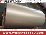 El color cubrió la bobina de aluminio con la capa de PVDF