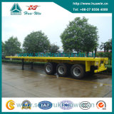 Sinotruk 40FT 3 차축 Container Flat Bed Semi Trailer