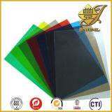Strato rigido di colore traslucido di plastica del PVC