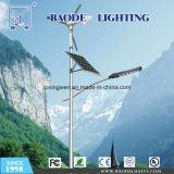 Manufatura da iluminação de rua do diodo emissor de luz do vento solar de Jiangsu com alta qualidade