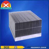 Dissipador de calor ligado feito da liga de alumínio 6063