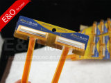 Pacchetto a gettare della scheda della visualizzazione 2 strati delle lamierine del rasoio del rasoio