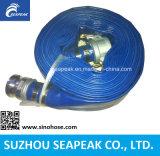 Tuyau d'irrigation Layflat l'eau en PVC avec CE Couplage