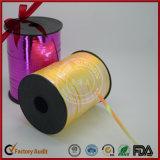 carretel Curly da fita da planície do balão de 10mm para a venda por atacado