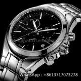 Relógio novo Hl-Bg-99 do aço inoxidável da forma de quartzo do estilo