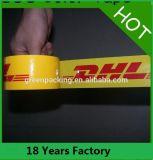China com a fita feita sob encomenda livre da embalagem da selagem BOPP da caixa das amostras 48mm com logotipo para empacotar a fita impressa
