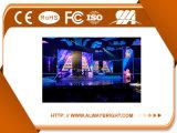 P3.91 SMD 3 en 1 visualización de LED de alquiler de la etapa a todo color de interior