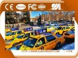 Exhibición de LED de la tapa del taxi de la buena calidad P6 de Shenzhen