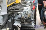 鉱山の発破穴のドリル機械